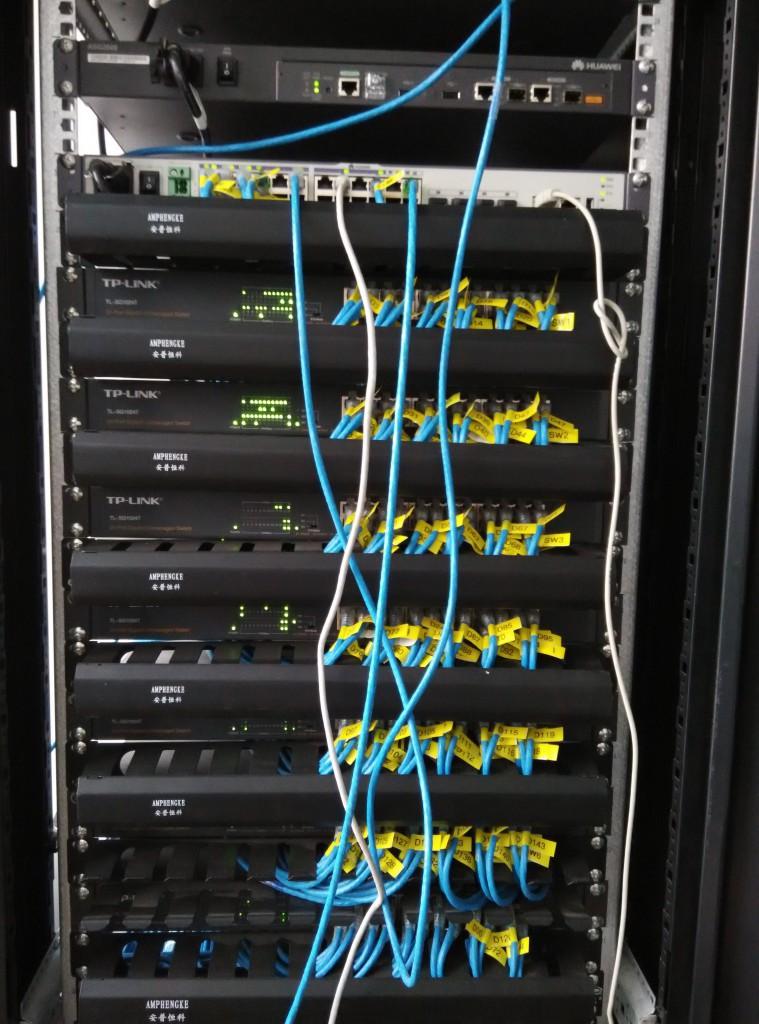 网络机柜图